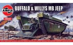 Buffalo Willys MB Jeep, Airfix 02302v