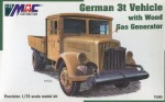 German 3t Vehicle with Wood Gas Generator