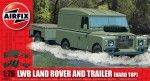 LWB Landrover (Hard Top) & Trailer, Airfix 02324
