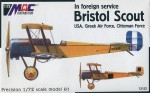 Bristol Scout USA, Greek Air Force Ottoman Force
