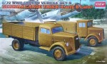 German Cargo Truck (Early&Late), Academy 13404