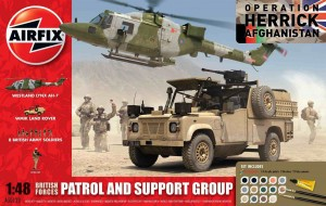 British Forces - Patrol and Support - zestaw podarunkowy Airfix 50123