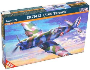 "CR.714 C1 1/145 ""Varsovie"", MisterCraft B-05"