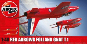 Red Arrows Gnat, Airfix 05124